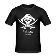 T-Shirts ~ Männer Slim Fit T-Shirt ~ Freibeuter La Playa