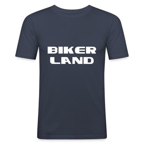 Biker Land - T-shirt près du corps Homme