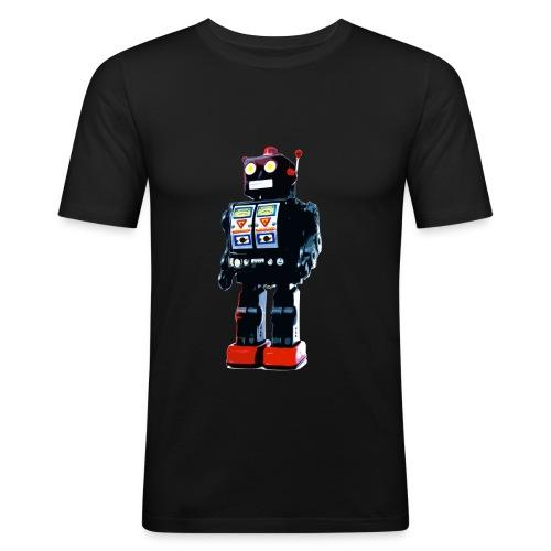 Robot. - Men's Slim Fit T-Shirt