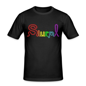 Colors Slurp!/H/Black - Tee shirt près du corps Homme