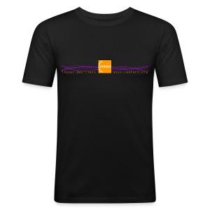 Tisser des liens - asso-contact.org - Tee shirt près du corps Homme