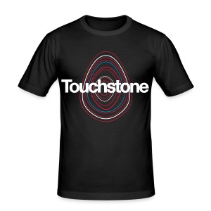 Touchstone Slimtfit Tshirt Black - Men's Slim Fit T-Shirt