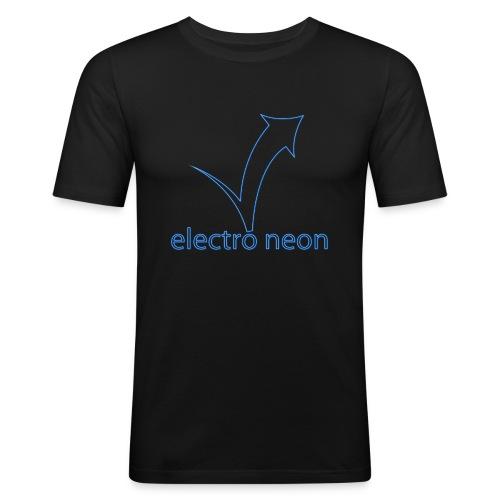 Electro Neon - Männer Slim Fit T-Shirt