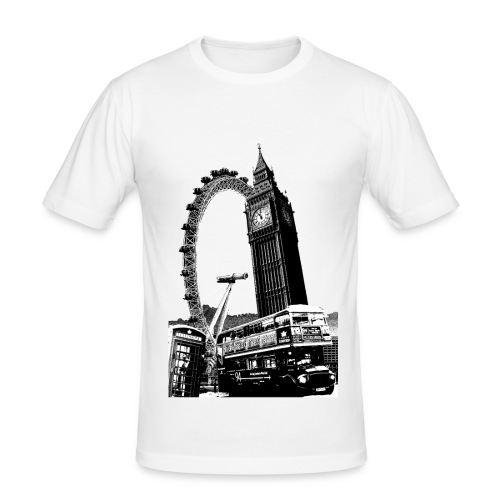 London - Slim Fit - Men's Slim Fit T-Shirt