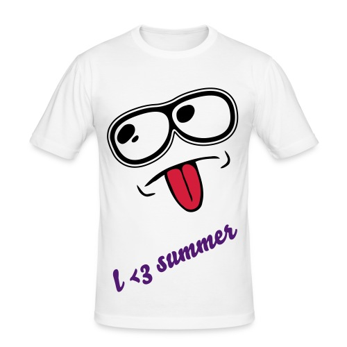 Summer  - Herre Slim Fit T-Shirt