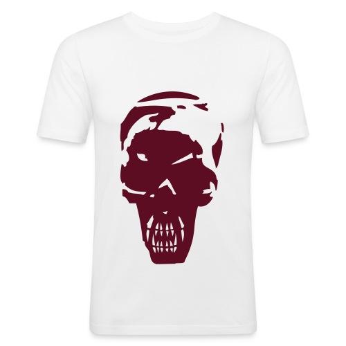 Skull 3 - Miesten tyköistuva t-paita