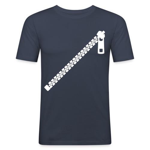 Zip - T-shirt près du corps Homme