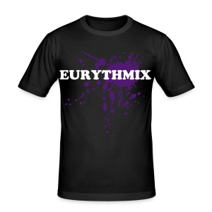 Eurythmix NEW Style - Black/Purple - Men's Slim Fit T-Shirt