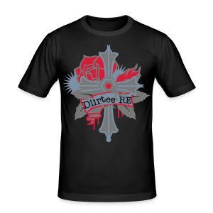 Diirtee RE - Men's Slim Fit T-Shirt