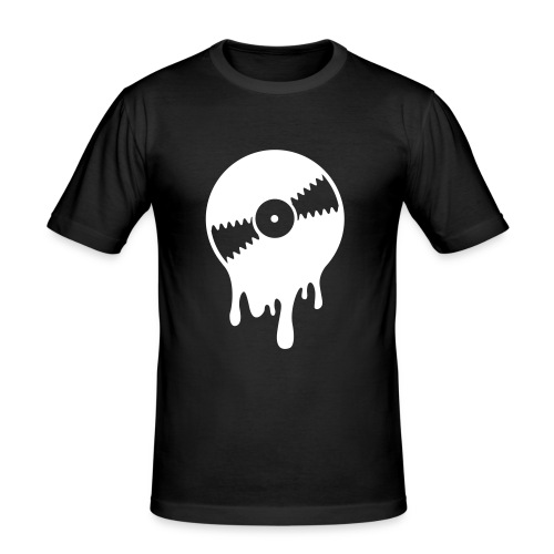 Men's 'bleedingrecord' tee - Men's Slim Fit T-Shirt