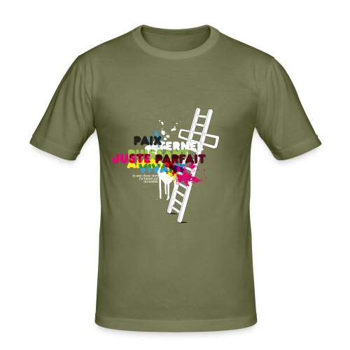 Echelle - T-shirt près du corps Homme