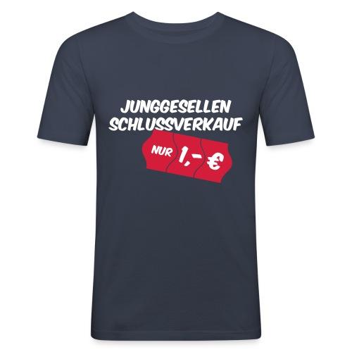 Junggesellen Schlussverkauf - Männer Slim Fit T-Shirt