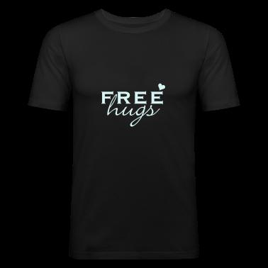 Nero abbracci gratis / free hugs (1c) T-shirt