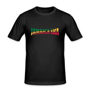 Jamaica-Ska-Shirt - Männer Slim Fit T-Shirt