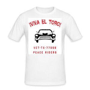 VIVA EL TORO! Bully Car. Maglietta slim. - Men's Slim Fit T-Shirt