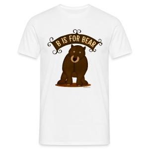 B is for Bear Men's T - Men's T-Shirt
