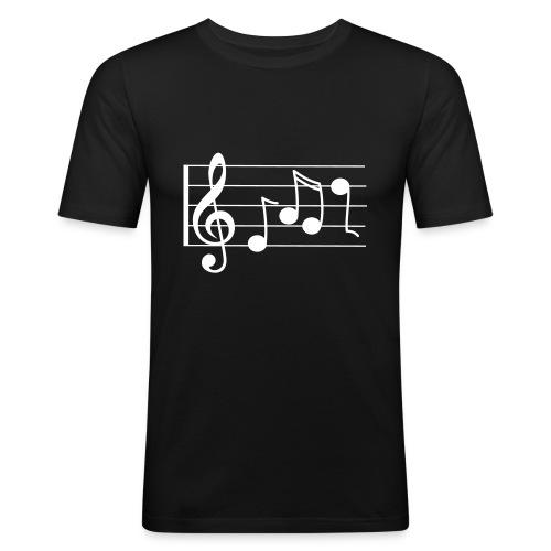 T-Shirt Pentagramma - Maglietta aderente da uomo