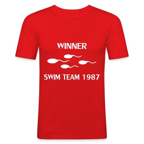 Swim Team DISPONIBILE QUALSIASI ETA' - Maglietta aderente da uomo