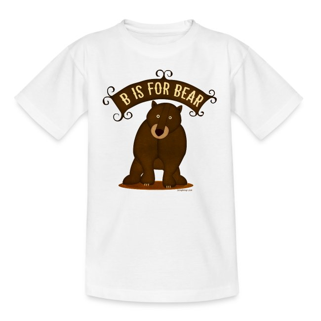 B is for Bear Kids T