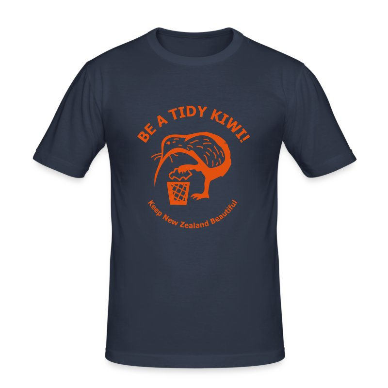 Be a Tidy Kiwi - Men's Slim Fit T-Shirt
