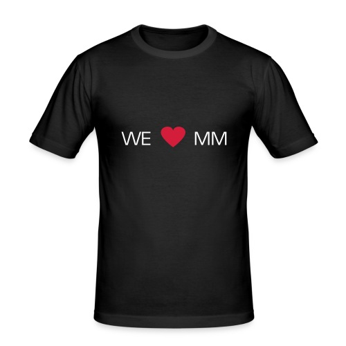 Max Motion Official Fan Tee [Slim Fit] - Männer Slim Fit T-Shirt