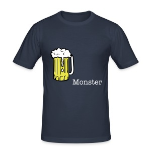 The Beer Monster - Men's Slim Fit T-Shirt