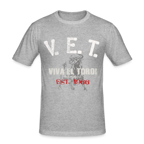 VIVA EL TORO! ATHLETIC DEPT. - Men's Slim Fit T-Shirt