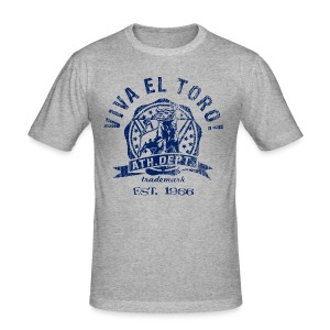 VIVA EL TORO! ATHLETIC DEPT. Maglietta slim. - Men's Slim Fit T-Shirt
