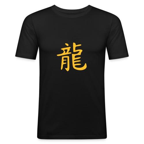 Herren Dragon - Männer Slim Fit T-Shirt