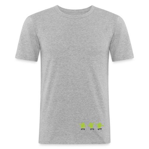 SkateDroid - T-shirt près du corps Homme