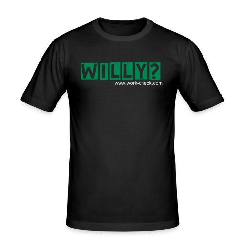WILLY? - Men's Slim Fit T-Shirt