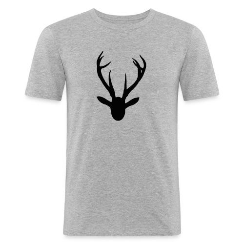 deer - Men's Slim Fit T-Shirt