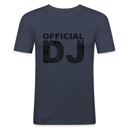 Official DJ T-shirt - Slim Fit T-skjorte for menn