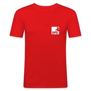 SPD Niedersachsen Männer Slimfit-Shirt - Männer Slim Fit T-Shirt