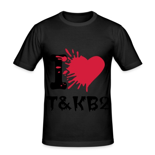 I♥ TKB2 - Männer Slim Fit T-Shirt