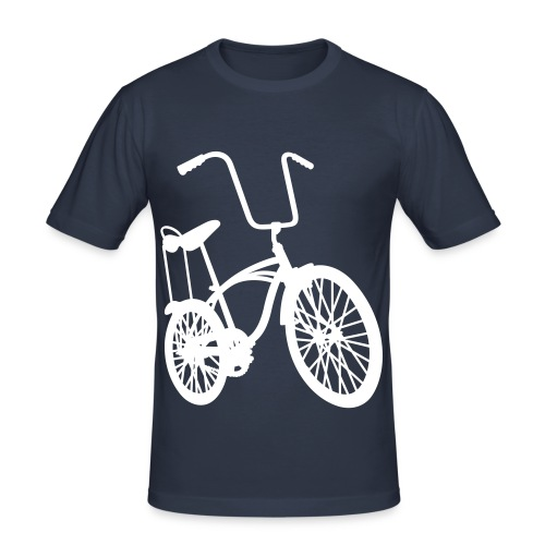 Retro Style Bike T-Shirt - Men's Slim Fit T-Shirt