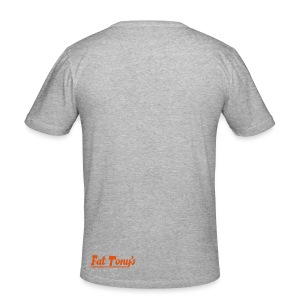 widefive / grey slimfit - Men's Slim Fit T-Shirt