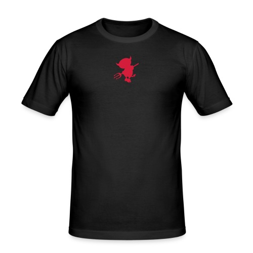 Little Devil in Me - Men's Slim Fit T-Shirt