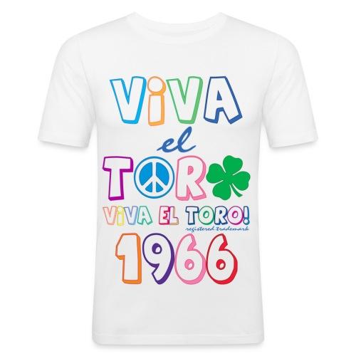 Viva El Toro peace And Luck! - Maglietta aderente da uomo