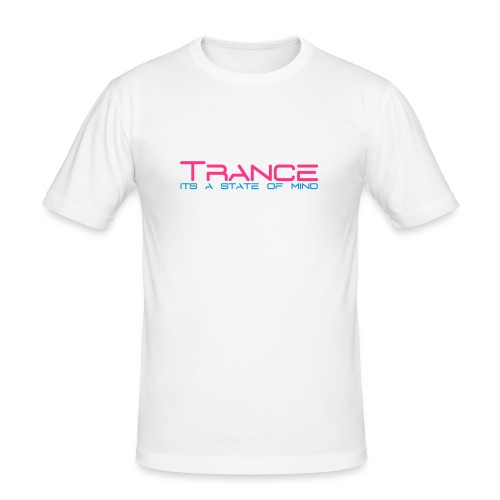 Trance state of mind - Men's Slim Fit T-Shirt