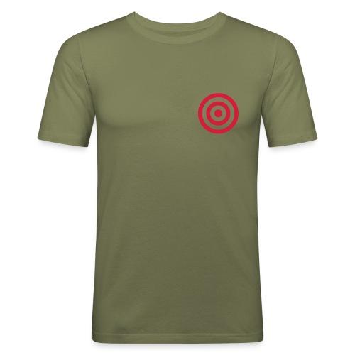 Target - Maglietta aderente da uomo