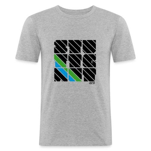 0711 STU-TTG-ART - Männer Slim Fit T-Shirt