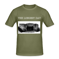 T-Shirts ~ Männer Slim Fit T-Shirt ~ THE LONGEST DAY T-SHIRT!
