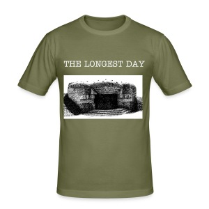 THE LONGEST DAY T-SHIRT! - Männer Slim Fit T-Shirt
