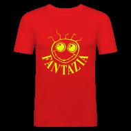 T-Shirts ~ Men's Slim Fit T-Shirt ~ Slim Fit T-shirt