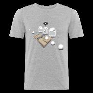 Tee shirts ~ Tee shirt près du corps Homme ~ Numéro de l'article 16519442