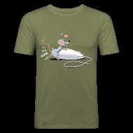 Tee shirts ~ Tee shirt près du corps Homme ~ Numéro de l'article 16520259