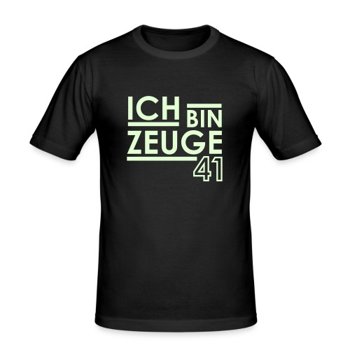 Nowitzki Zeuge Shirt brown/(white)illuminating  MEN - Männer Slim Fit T-Shirt