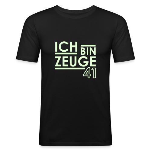 Zeuge 01 - Männer Slim Fit T-Shirt