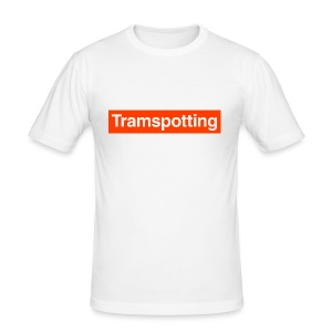 Tramspotting - Men's Slim Fit T-Shirt